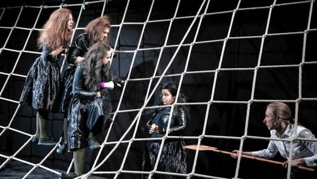 """Uraufführung der Grazer Schauspielhaus-Produktion """"ruhig blut"""" in Berlin (Bild: Lupi Spuma)"""