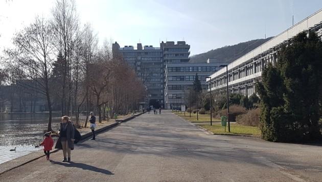 Der Campus der Johannes Kepler Universität (JKU) (Bild: JKU)