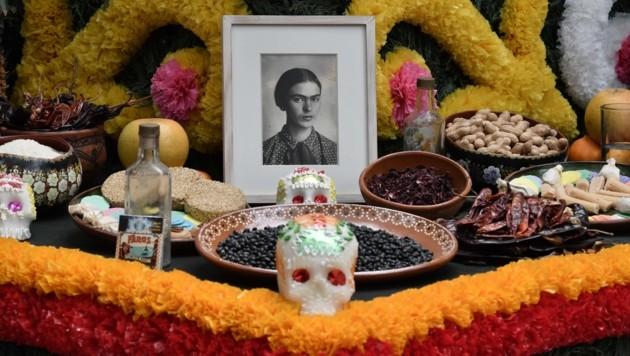 In Mexiko wird die Malerin bis heute verehrt und gilt als nationales Symbol. (Bild: AFP )