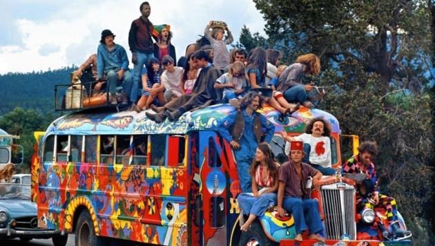 """""""Woodstock"""" war der Höhepunkt der Hippie-Kultur. (Bild: zVg)"""