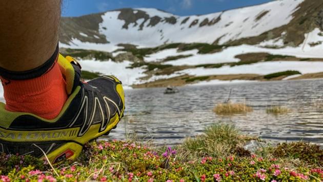 Schneefelder sind derzeit eine Gefahr im Gebirge. (Bild: Naturfreunde/Martin Edlinger)
