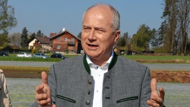 Landesrat Hans Seitinger (Bild: Juergen Radspieler)