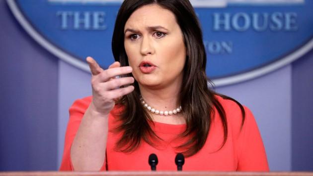 Sarah Huckabee Sanders (Bild: Associated Press)