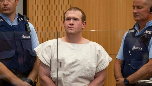 Brenton Tarrant wurde zu lebenslanger Haft verurteilt.