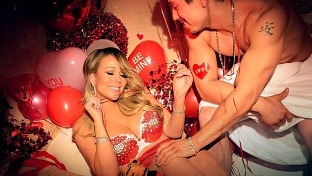 Mariah Carey und ihr Tänzer Bryan Tanaka (Bild: instagram.com/mariahcarey)