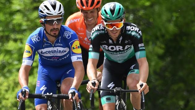 Gregor Mühlberger (rechts) (Bild: AFP)