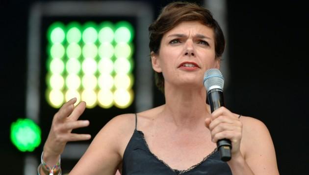 SPÖ-Chefin Pamela Rendi-Wagner (Bild: APA/HERBERT NEUBAUER)