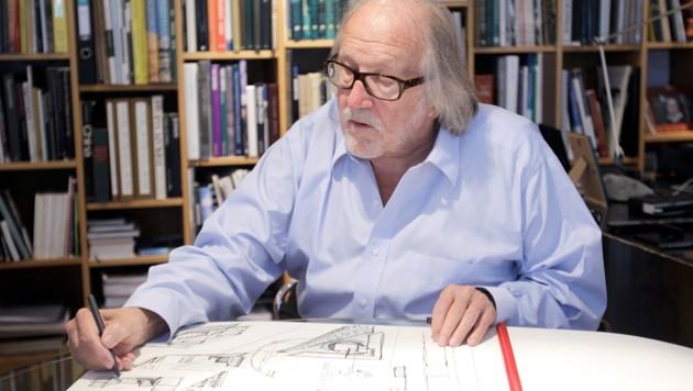 Wilhelm Holzbauer (Bild: APA/GEORG HOCHMUTH)