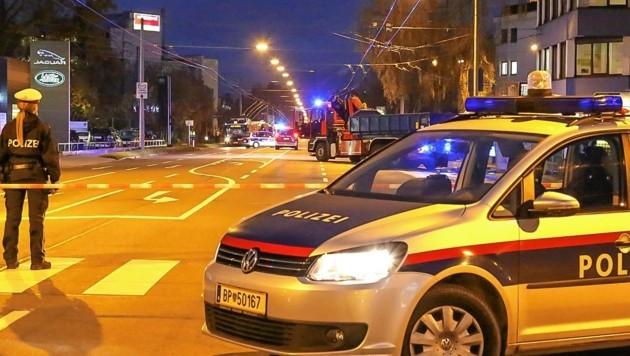 Der Raser wurde in der Alpenstraße gestoppt (Symbolbild). (Bild: MARKUS TSCHEPP)