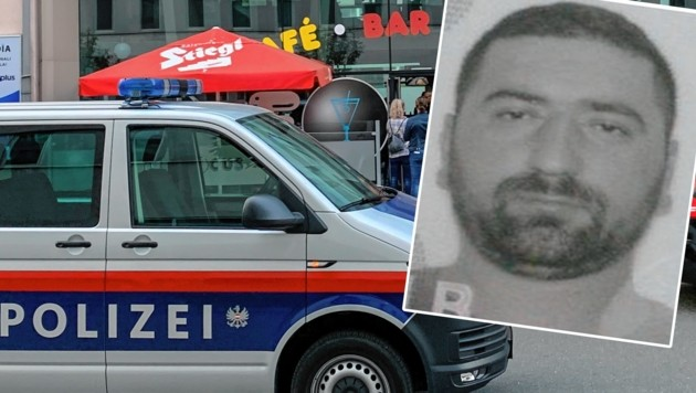 Dieser Albaner wird wegen des Mordes in Lehen gesucht. (Bild: Markus Tschepp/Polizei)
