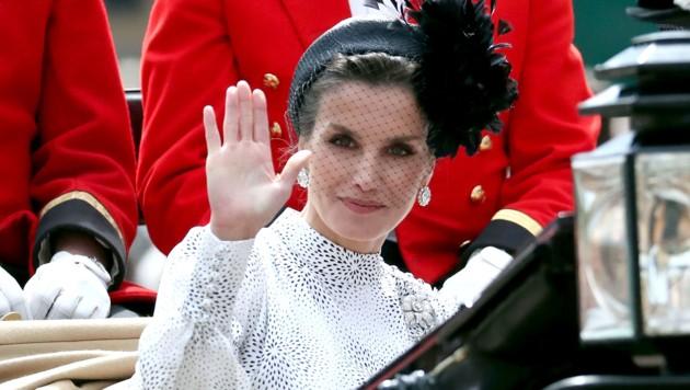 Königin Letizia von Spanien (Bild: AFP)