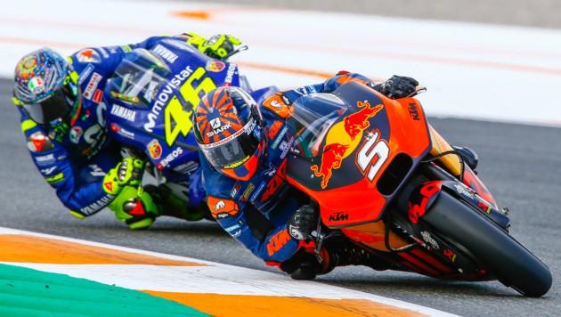 KTM gibt unter anderem auch in der Königsklasse der Motorrad-WM, der MotoGP, Gas. (Bild: Gerhard Schiel)