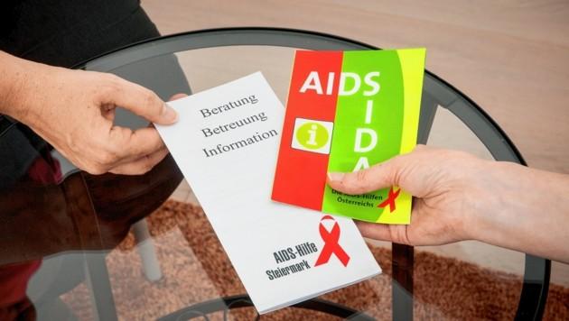 Die AIDS-Hilfe bietet eine Fülle an Informationen, die Hemmschwelle, dorthin zu gehen, ist weitestgehend verschwunden. (Bild: Heimo Binder)