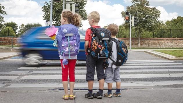 In Moos, einem Ortsteil von Matrei in Osttirol, wünschen sich viele Eltern einen Schutzweg. (Bild: ARBÖ)