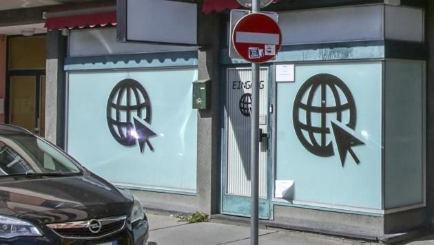 Tatort in der St. Julien-Straße in Salzburg (Bild: Tschepp Markus)