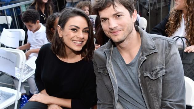 Mila Kunis und Ashton Kutcher (Bild: 2018 Getty Images)