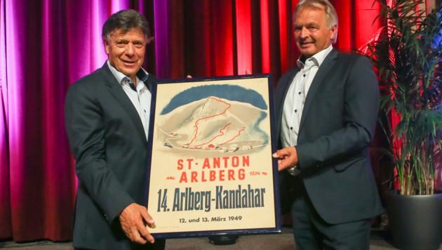 ÖSV-Präsident Peter Schröcksnadel und Hans Pum (Bild: GEPA)