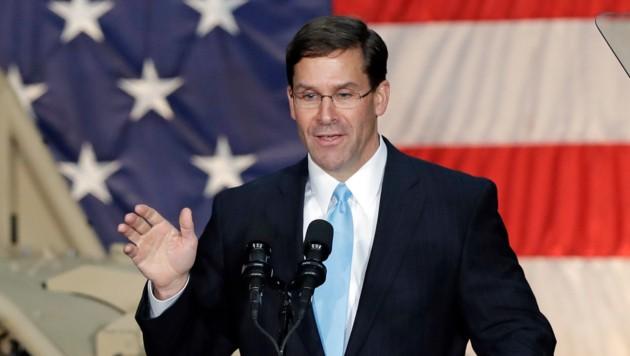 Mark Esper muss sich noch einem Hearing des Kongresses stellen. (Bild: AP)