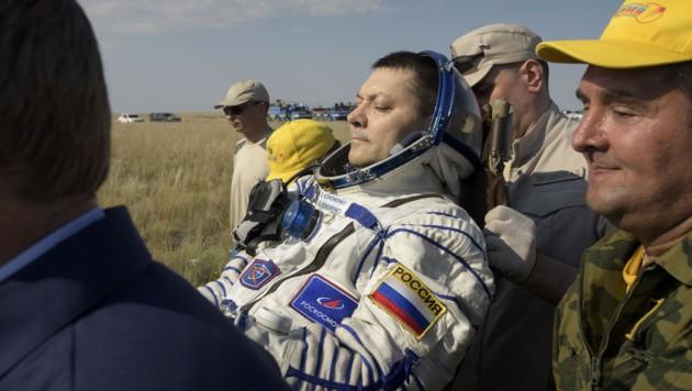 Oleg Kononenko (Bild: APA/AFP/NASA/Bill Ingalls/NASA)