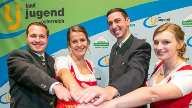 Erst im November 2018 wurde Bernhuber zum Bundesleiter der Landjugend Österreich gewählt. Mit der Kandidatur legte er dieses Amt wieder ab und übergab an seinen damaligen Stellvertreter Martin Kubli (li.). (Bild: WildBild)