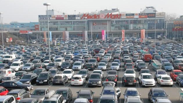 Die Shoppingcity Seiersberg (Bild: Christian Jauschowetz)