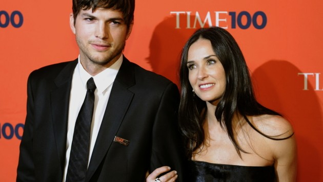 Ashton Kutcher und Demi Moore (Bild: AFP)
