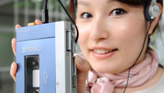 """Mit dem """"TPS-L2"""" begann der Siegeszug des Walkman. (Bild: AFP)"""