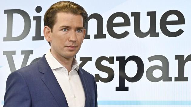 ÖVP-Bundesparteiobmann Sebastian Kurz (Bild: APA/HANS PUNZ)