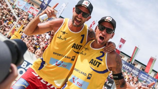 Clemens Doppler (li.) und Alexander Horst (Bild: GEPA)