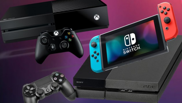 (Bild: Sony, Microsoft, Nintendo, krone.at-Grafik)