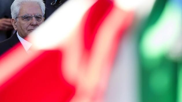Sergio Mattarella (Bild: ANGELO CARCONI)