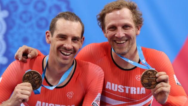 Graf/Müller bei den European Games im vergangenen Juni (Bild: GEPA)