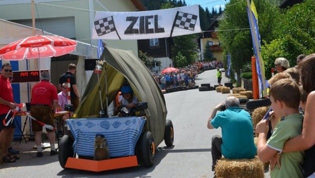 Seifenkisten-Rennen (Bild: TMK St. Margarethen)