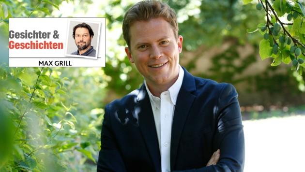 Der Salzburger Tobias Pötzelsberger ist das neue Gesicht der ORF-Information: Durch seinen starken TV-Auftritt rund um das Ibiza-Video hat er sich für die Sommergespräche qualifiziert. Wer ist der Mann, der ab 5. August die Partei-Spitzen befragt? (Bild: Markus Tschepp)