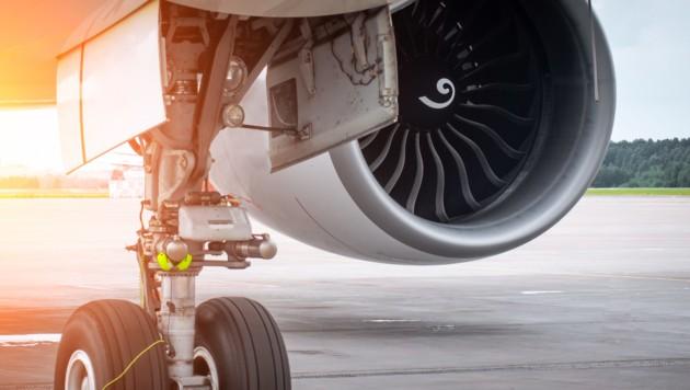 Blinder Passagier stürzt aus Jet - fällt in Garten