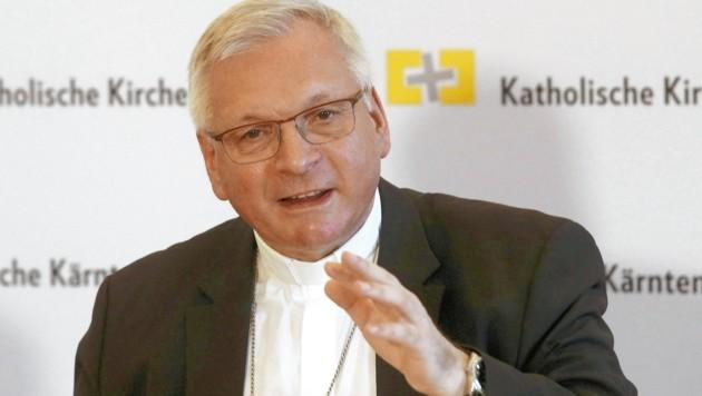 Neuer Apostolischer Administrator in der Diözese Gurk ist Militärbischof Werner Freistetter (Bild: GERT EGGENBERGER / APA / picturedesk.com)