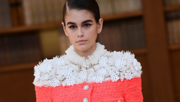 Kaia Gerber in Chanel (Bild: AFP )