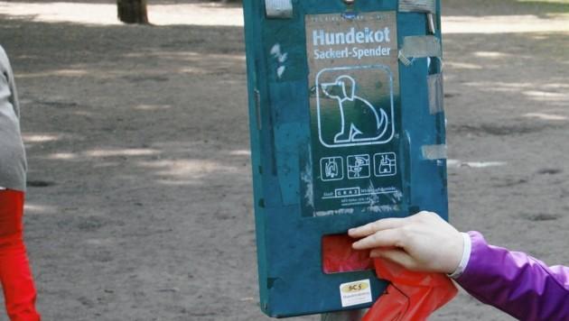 """Für Hundekot reicht ein """"Sackerl""""..."""