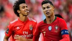 Joao Felix - wird er der neue Cristiano Ronaldo? (Bild: APA/AFP/PATRICIA DE MELO MOREIRA, ASSOCIATED PRESS)