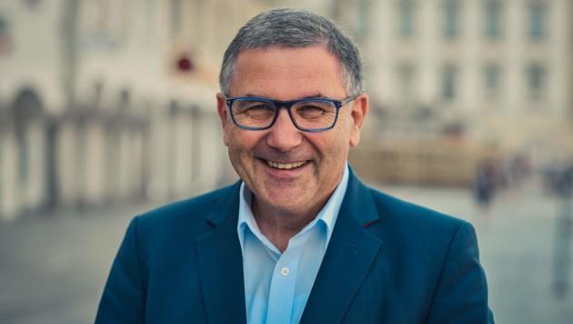 Georg Steiner, CSU-Chef in Passau und Tourismusdirektor in Linz. (Bild: Markus Wenzel)