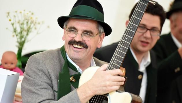 Josef Reisenbichler war auch leidenschaftlicher Musiker. (Bild: Spitzbart Wolfgang)