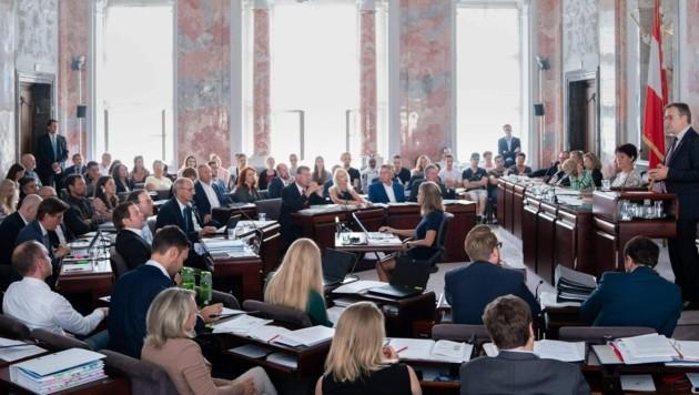 Ziel sei es, im Mai-Landtag einen Allparteienantrag einzubringen (Archivbild). (Bild: VP/Julian Angerer)