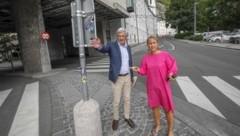 Preuner und Unterkofler regeln den Verkehr am Kai neu. (Bild: Tschepp Markus)