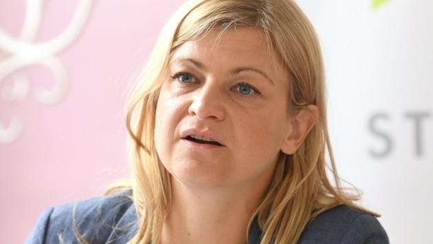 Barbara Teiber, GPA-djp (Bild: HELMUT FOHRINGER)