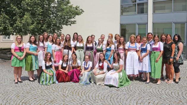 Toller Abschluss des Schuljahres in der LFS Kleßheim. (Bild: LFS Kleßheim)