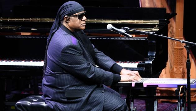 Stevie Wonder im April 2019 in Los Angeles (Bild: AFP)