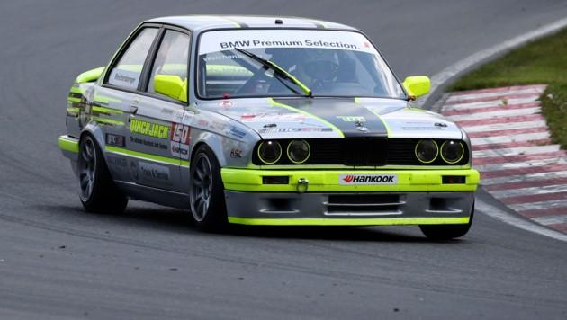 Tobi Weichenberger ist auf dem besten Weg seinen zweiten Titel in der BMW Challenge in Folge einzufahren. (Bild: ANDREAS TROESTER)