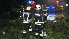 Feuerwehreinsatz im Burgenland nach heftigen Unwettern (Bild: APA/WWW.FEUERWEHR-PINKAFELD.AT)