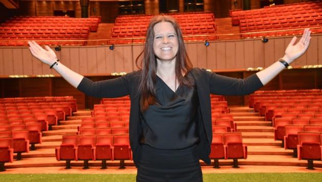 Das deutschsprachige Theater in Bozen in Südtirol hat eine Intendantin aus Linz: Irene Girkinger (Bild: DLife/LO)