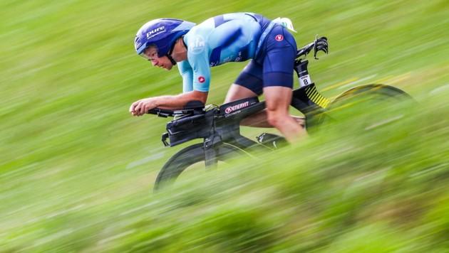 Der Neumarkter Andreas Giglmayr kämpfte sich beim Ironman in Klagenfurt auf Rang sieben. (Bild: GEPA pictures)